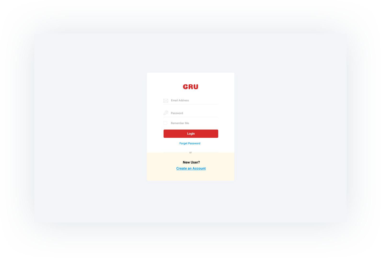 gru-login-screen