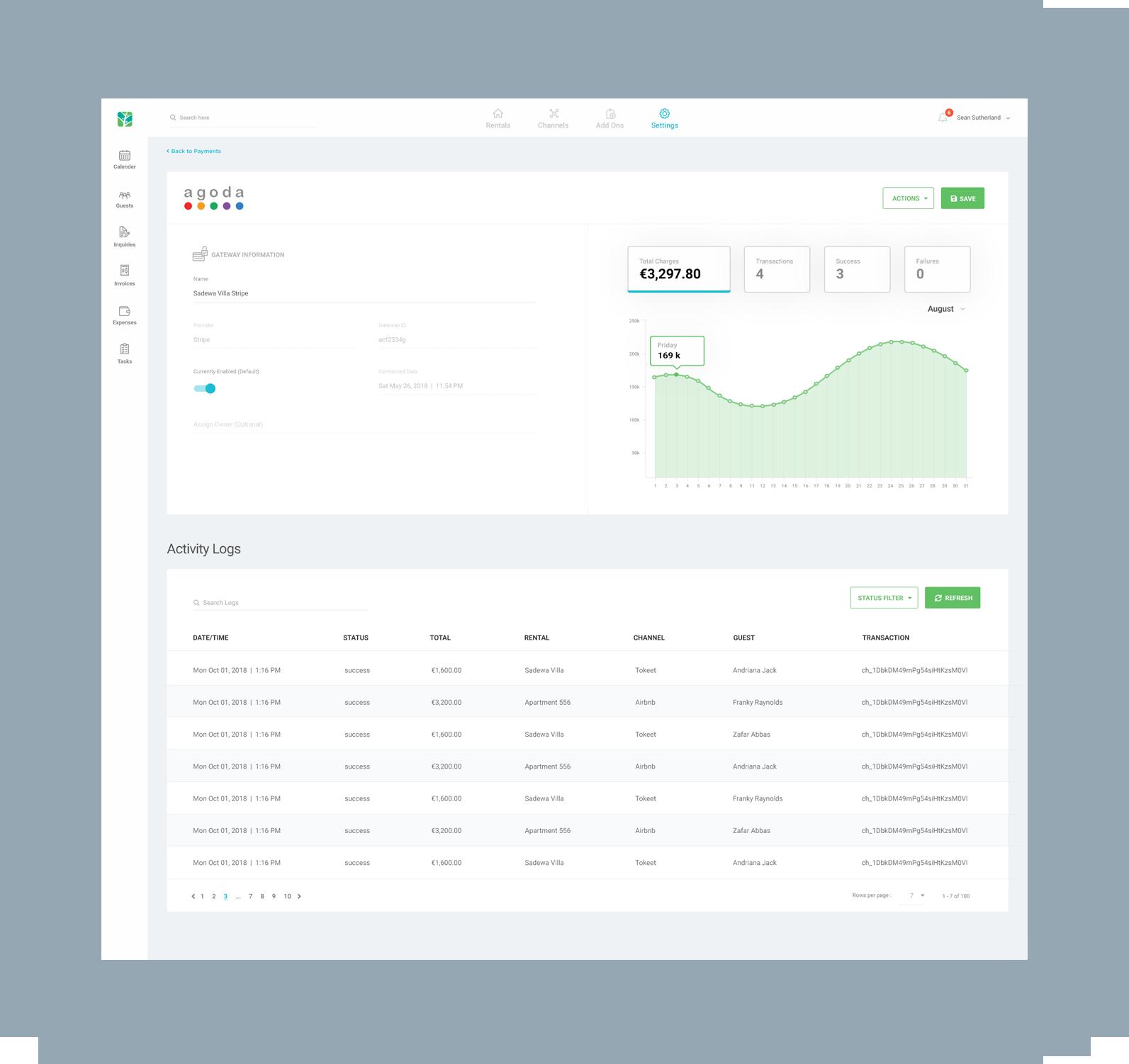 tokeet-app-activitylogs